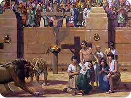 an analysis of the christian persecutions in the city of rome Analysis of the visit of  analysis of the visit of jpii to the synagogue of rome is the catholic church becoming  persecutions and all manifestations of.