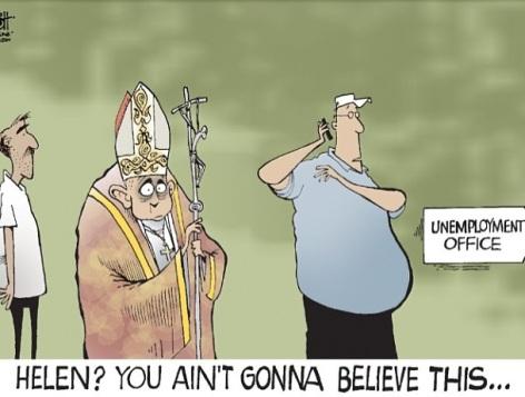 pope humor