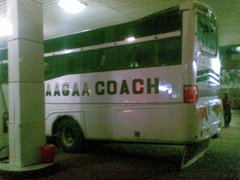 Bus services to Arua