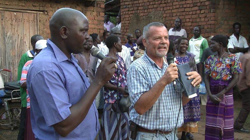 Jacob Lee in Ugandan Village...