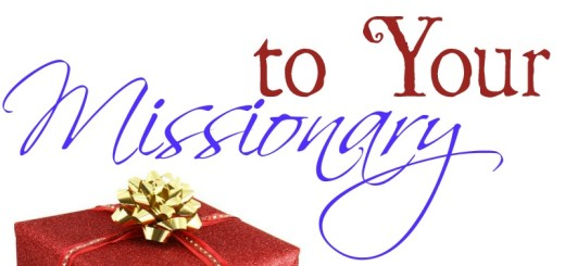 blessing missionaries