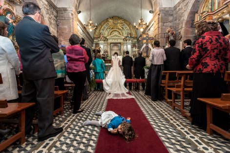 tantrum in church